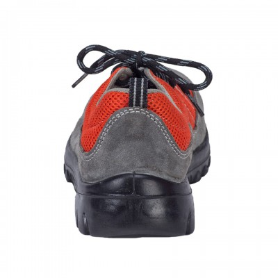 RAGINI, Double Density Oliver Sole Shoes for mallcom Feet protection. It is Low ankle leather boot