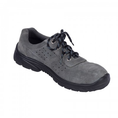 MENNEC, Single Density Tiglon Sole Shoes for mallcom Feet protection. It is Low ankle leather boot