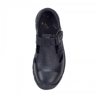 CHEETAH, Single Density Tiglon Sole Shoes for mallcom Feet protection. It is Low ankle leather boot