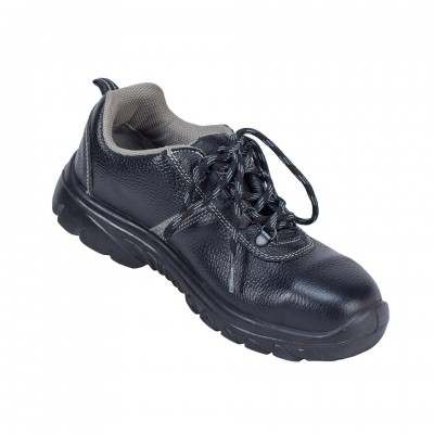 MONT BLANC, Single Density Tiglon Sole Shoes for mallcom Feet protection. It is Low ankle leather boot