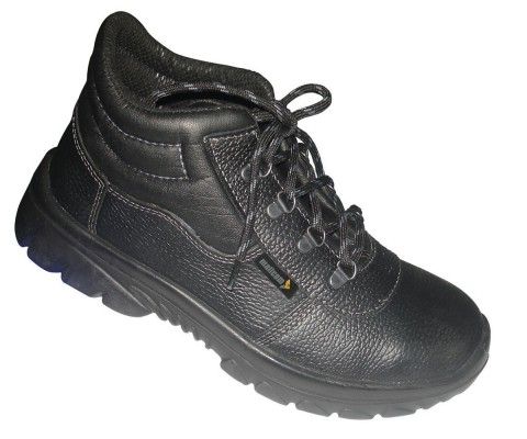 TIGLON 3400, Single Density Tiglon Sole Shoes for mallcom Feet protection. It is High ankle leather boot