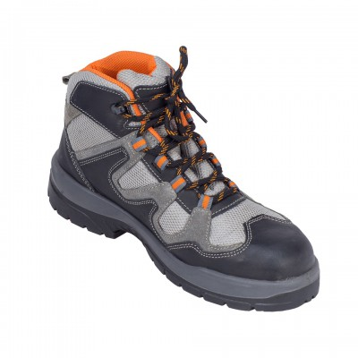 OCELOT, Double Density Oliver Sole Shoes for mallcom Feet protection. It is High ankle leather boot