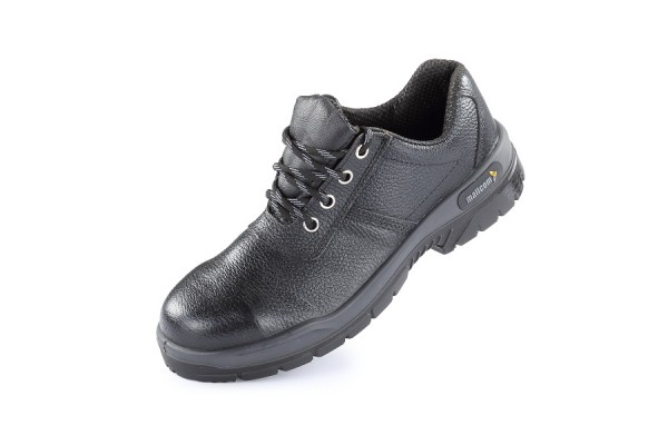 PAMPAS, Double Density Oliver Sole Shoes for mallcom Feet protection. It is Low ankle leather boot