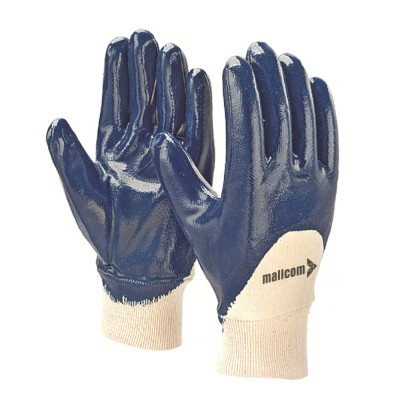 LPKB, Cut & Sewn Nitrile Gloves for mallcom Hand protection. It is Palm coated nitrile gloves