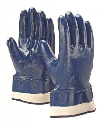 TFCB, Cut & Sewn Nitrile Gloves for mallcom Hand protection. It is Full coated nitrile gloves