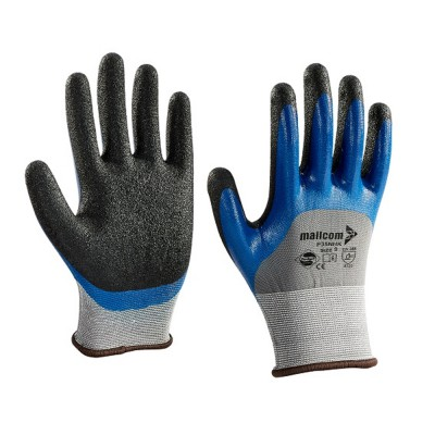 P35NHK, Seamless Nitrile Gloves for mallcom Hand protection. It is Nitrile dipped gloves
