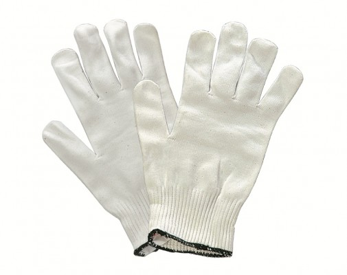 N1002, Seamless Knitted Gloves for mallcom Hand protection. It is Nylon knitted seamless gloves