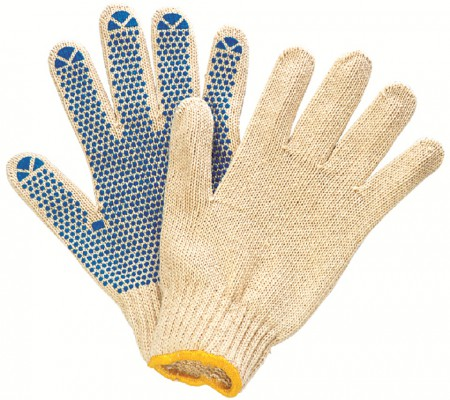 C1002D, Seamless Knitted Gloves for mallcom Hand protection. It is Cotton knitted seamless gloves
