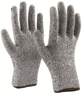 F33G5, Seamless Knitted Gloves for mallcom Hand protection. It is Cut resistant knitted gloves