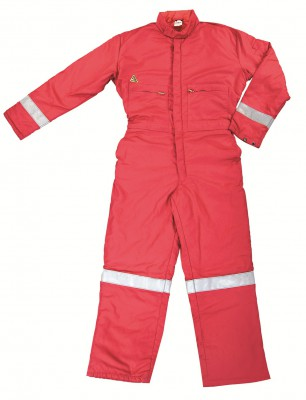 FRGRT002, Flame Retardant Wear for mallcom Body protection. It is Flame retardant coverall