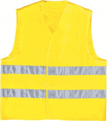 COAT BRITE, Hi - Visibility Wear for mallcom Body protection. It is Hi-visibility vest