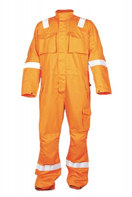 ORBE, Flame Retardant Wear for mallcom Body protection. It is Flame retardant coverall