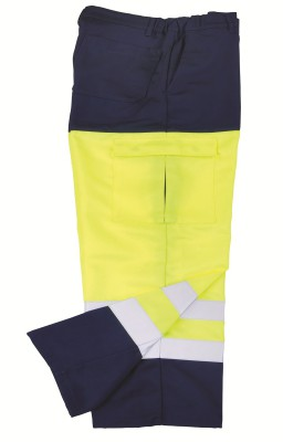 VRYBURG, Hi - Visibility Wear for mallcom Body protection. It is Hi-visibility trouser