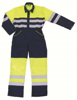 SOWETO, Hi - Visibility Wear for mallcom Body protection. It is Hi-visibility coverall