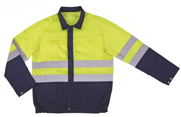 PRETORIA, Hi - Visibility Wear for mallcom Body protection. It is Full sleeve hi-vis jacket