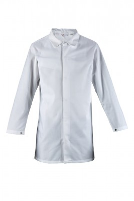 CULWR030, Work Jacket & Coat for mallcom Body protection. It is Full sleeve collared tunic