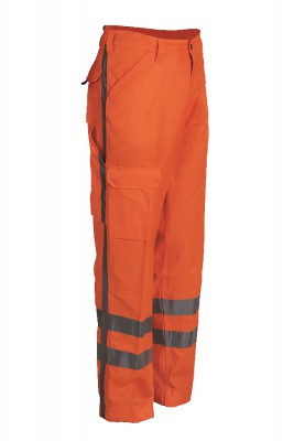 HI-VIS008, Hi - Visibility Wear for mallcom Body protection. It is High visibility trouser
