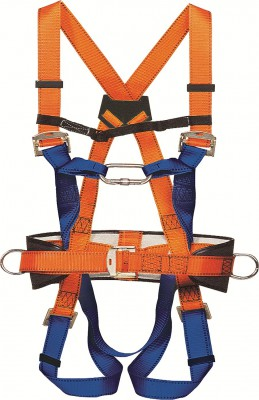 HB 06, Harness for mallcom Fall protection. It is Adjustable safety harness