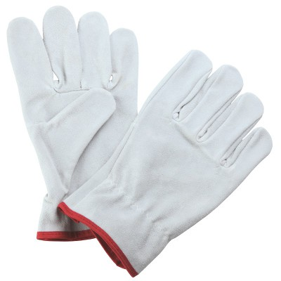 D591, Driver Leather Gloves for mallcom Hand protection. It is Leather gloves