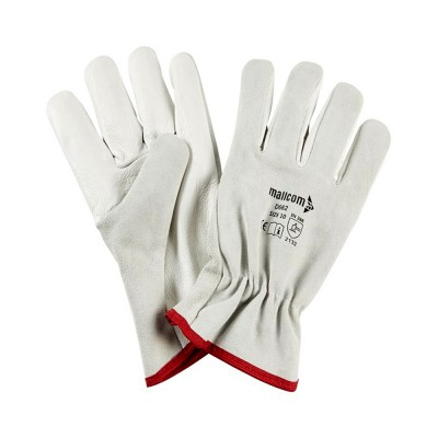 D662, Driver Leather Gloves for mallcom Hand protection. It is Leather gloves
