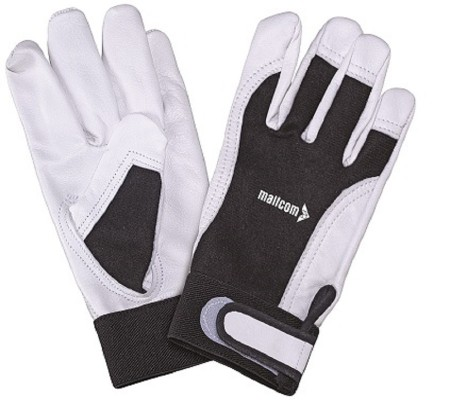 M254, Driver Leather Gloves for mallcom Hand protection. It is Leather gloves