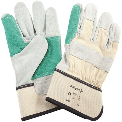C853, Canadian Leather Gloves for mallcom Hand protection. It is Leather gloves