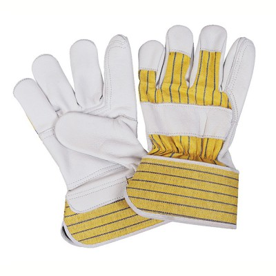 C232R, Canadian Leather Gloves for mallcom Hand protection. It is Leather gloves