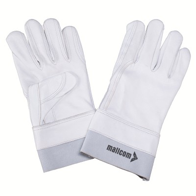 F222DP, Canadian Leather Gloves for mallcom Hand protection. It is Leather gloves