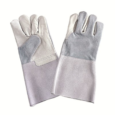 F234, Welder Leather Gloves for mallcom Hand protection. It is Welder gloves