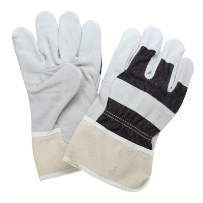 C834JNS, Canadian Leather Gloves for mallcom Hand protection. It is Gloves with jeans fabric back