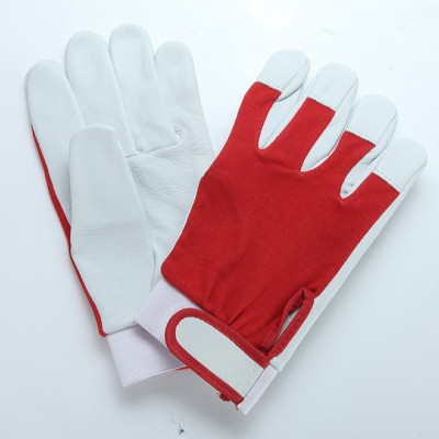 M654, Mechanical Leather Gloves for mallcom Hand protection. It is Leather gloves