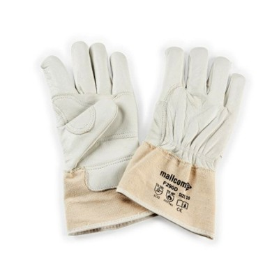 F290D, Welder Leather Gloves for mallcom Hand protection. It is Welder gloves