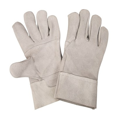 F522, Welder Leather Gloves for mallcom Hand protection. It is Welder leather gloves