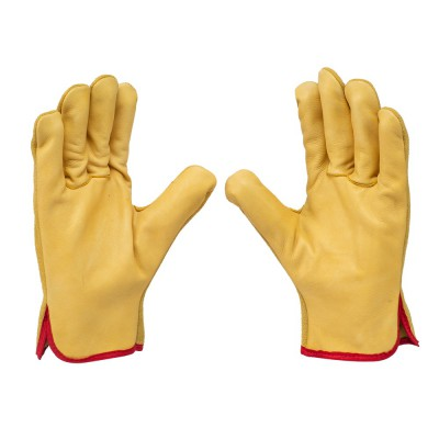 D762, Driver Leather Gloves for mallcom Hand protection. It is Driver Leather Gloves