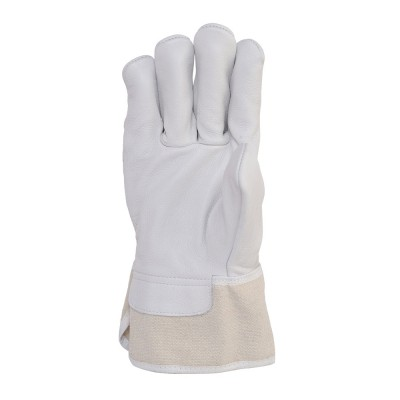 C231, Canadian Leather Gloves for mallcom Hand protection. It is Canadian Leather Gloves