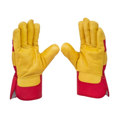 C332, Canadian Leather Gloves for mallcom Hand protection. It is Canadian Leather Gloves