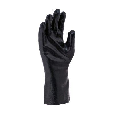 TECHO FL 30, Cut & Sewn Nitrile Gloves for mallcom Hand protection. It is Nitrile Gauntlet
