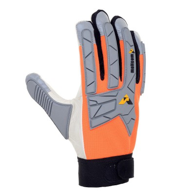 TM284, Impact Resistant Leather Gloves for mallcom Hand protection. It is Knuckle Protection Gloves