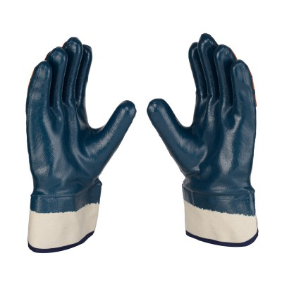 T-MFCB, Impact Resistant Nitrile Gloves for mallcom Hand protection. It is Knuckle Protection Gloves