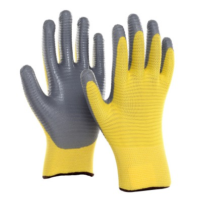 PR4NGA, Seamless Nitrile Gloves for mallcom Hand protection. It is Seamless nitrile dipped gloves