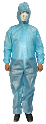 KC2AZ, Disposable Wear for mallcom Body protection. It is Disposable Coverall