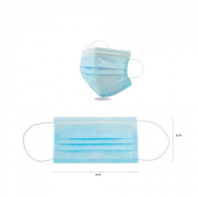 CK86P3, Disposable Surgical Mask for mallcom Head protection. It is Non Sterile, disposable Masks