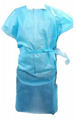 KC2EZ, Disposable Wear for mallcom Body protection. It is Laminated Disposable Apron
