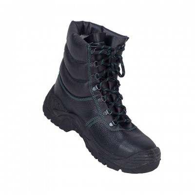 ALASKA, Double Density Darwin Sole Shoes for mallcom Feet protection. It is High ankle leather boot
