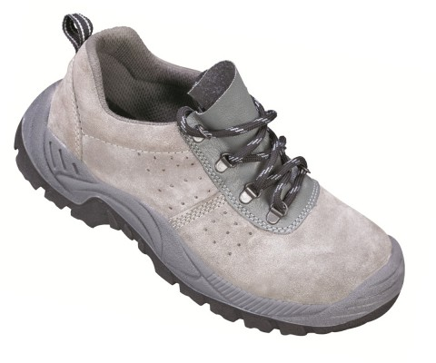 BORG, Double Density Darwin Sole Shoes for mallcom Feet protection. It is Low ankle leather shoe