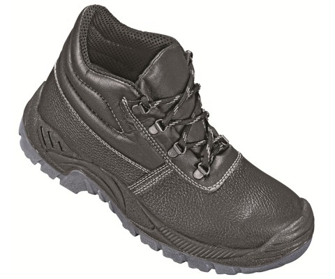 FELIX, Double Density Darwin Sole Shoes for mallcom Feet protection. It is High ankle leather shoe