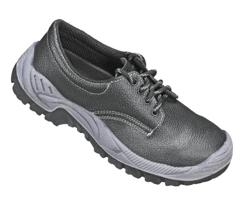GONZO, Double Density Darwin Sole Shoes for mallcom Feet protection. It is Low ankle safety boot