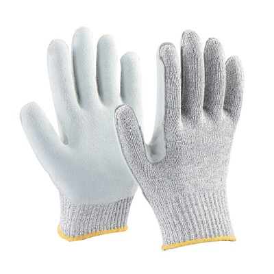 HL010, Seamless Knitted Gloves for mallcom Hand protection. It is Knitted seamless gloves