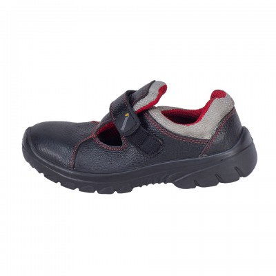 KORAT, Single Density Tiglon Sole Shoes for mallcom Feet protection. It is Low ankle leather boot