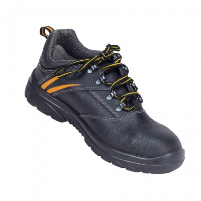 LIGER L, Double Density Oliver Sole Shoes for mallcom Feet protection. It is Low ankle safety shoe